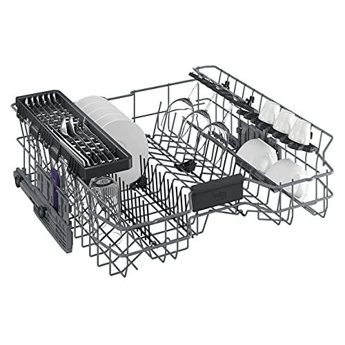 Beko DSN6634FX2 Geschirrspüler Teilintegriert / A++ / TrayWash / Turbotrockung / Watersafe+ / ProSmart Inverter Motor / SteamGloss - 3