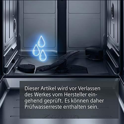 Siemens SN436S01CE iQ300 Unterbaugeschirrspüler 1.7 cm/A+++/234 kWh/Jahr/MGD/2660 L/jahr/Höhenverstellbarer Oberkorb - 6