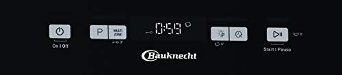 Bauknecht BFC 3C26 PF A Geschirrspüler freistehend, A++, 60 cm, 265 kWh/Jahr, 14 MGD, Power Clean, Startzeitvorwahl, Option Multizone - 6