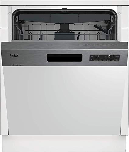 Leise Geschirrspülmaschine: Beko DSN28431X Geschirrspüler Teilintegriert