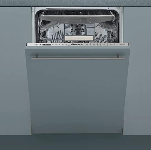 Bauknecht BSIO 3O35 PFE X Vollintegrierter Geschirrspüler - 45 cm Breite - A+++