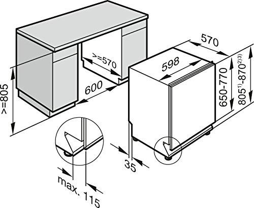 Miele G6360 SCVi D ED230 2,1 EcoLine Geschirrspüler Vollintegriert - 4