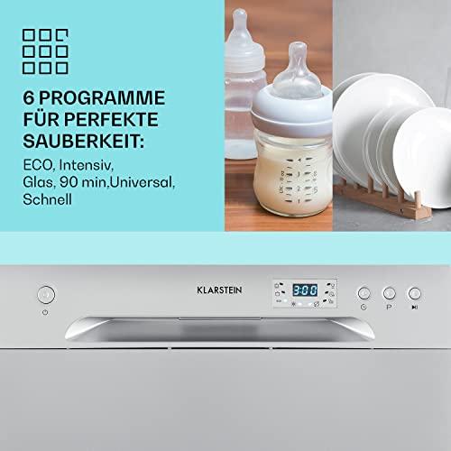 Klarstein Amazonia 6 Argentea Spülmaschine Tischgeschirrspülmaschine Silber - 3